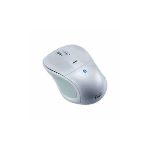 ナカバヤシ Bluetooth 静音3ボタンBlue LEDマウス ホワイト MUS-BKT111W(代引不可)【ポイント10倍】【送料無料】