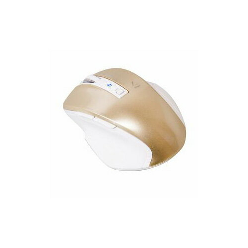 ナカバヤシ BlueLED Bluetoothマウス Z 5ボタン Sサイズ ゴールド MUS-BKF121GL(代引不可)【ポイント10倍】【送料無料】