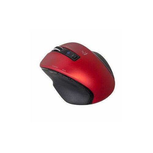 ナカバヤシ BlueLED Bluetoothマウス Z 5ボタン Sサイズ レッド MUS-BKF121R(代引不可)【ポイント10倍】【送料無料】