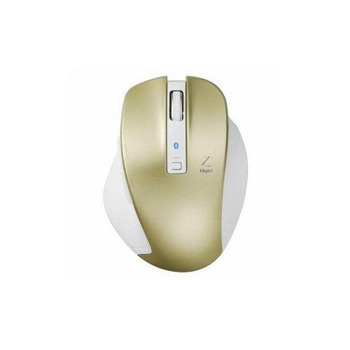 ナカバヤシ BlueLED Bluetoothマウス Z 5ボタン Mサイズ ゴールド MUS-BKF131GL(代引不可)【ポイント10倍】【送料無料】