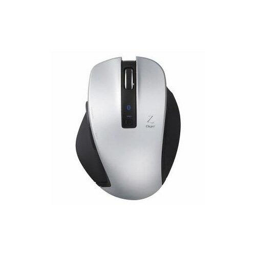 ナカバヤシ BlueLED Bluetoothマウス Z 5ボタン Mサイズ シルバー MUS-BKF131SL(代引不可)【ポイント10倍】【送料無料】