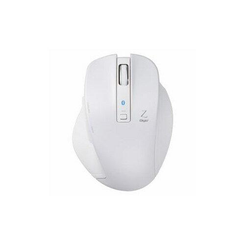 ナカバヤシ BlueLED Bluetoothマウス Z 5ボタン Mサイズ ホワイト MUS-BKF131W(代引不可)【ポイント10倍】【送料無料】