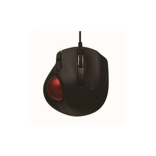 ナカバヤシ 小型有線静音5ボタン トラックボールマウス ブラック MUS-TULF133BK(代引不可)【ポイント10倍】【送料無料】