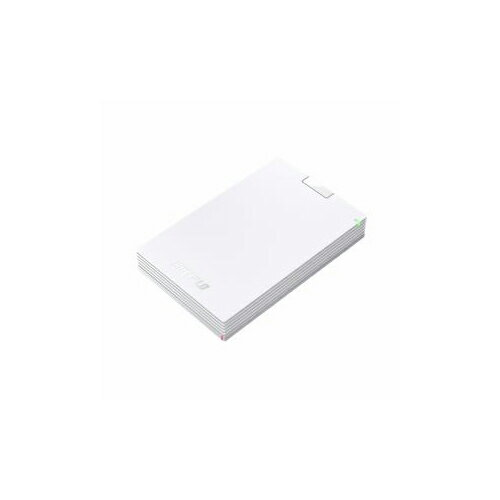 BUFFALO バッファロー ミニステーション USB3.1(Gen1) USB3.0 ポータブルHDD 2TB ホワイト HD-PCG2.0U3-GWA(代引不可)【ポイント10倍】【送料無料】
