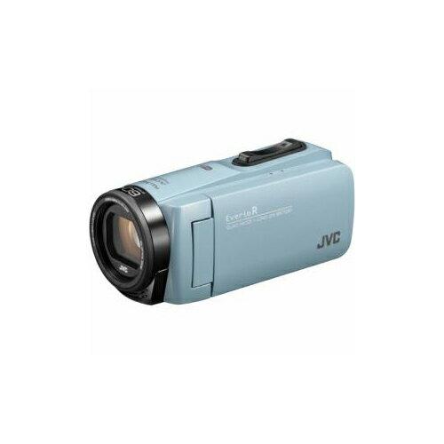 JVCケンウッド ハイビジョンメモリービデオカメラ 「Everio(エブリオ) Rシリーズ」 64GB サックスブルー GZ-RX680-A(代引不可)【ポイント10倍】【送料無料】【smtb-f】