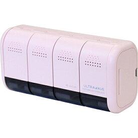 MEDIK メディク 99.9%の除菌ができる 壁掛け用充電式歯ブラシ除菌ホルダー ピンク MDK-TS04PK(代引不可)