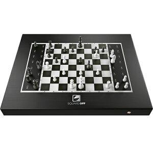 チェス駒が自動で動くスマートチェスボード Square Off - Black Edition SQF-GKS-B21(代引不可)【送料無料】