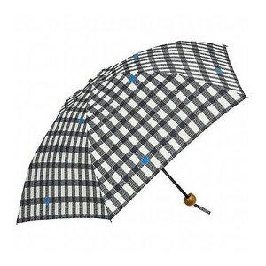 mikuni ミクニ 折りたたみ傘 Emini ギンガム ブラック 50cm GG-04999 傘 雨傘 梅雨 雨 カサ おしゃれ(代引不可)
