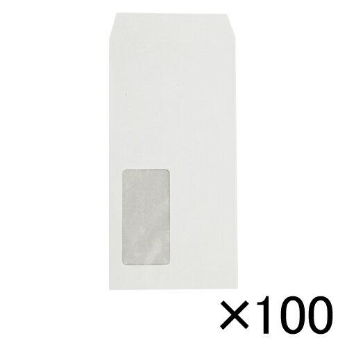 寿堂紙製品工業 ハーフトーン99透けない白封筒 80g 長3 100枚入 1 パック 31520 文房具 オフィス 用品【ポイント10倍】