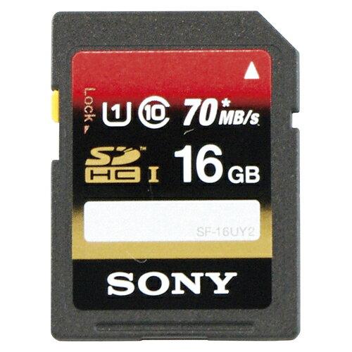 SONY SDXC/SDHC メモリーカード Class10 16GB 1 枚 SF-16UY2 文房具 オフィス 用品【ポイント10倍】