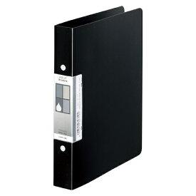 LIHIT LAB AQUA Window ツインリングファイル A5 黒 1冊【ポイント10倍】