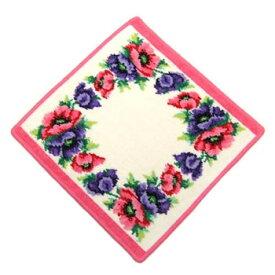 フェイラー FEILER タオル POPPEIS WHITE PINK WASH CLOTH 30/30 タオル30X30 PINK