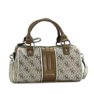Guess GUESS handbag ADELISA SI333176 MINI SATCHEL BROWN BR