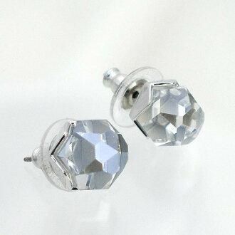 Swarovski SWAROVSKI earrings and pierced earring / earrings 1119297 NUTSPIERCED EARRINGS CRY DTL