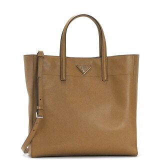 Prada PRADA bag BN 2666 SHOPPING+TRACOLLA CARAMEL CAMEL