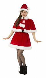 f87fcdcccae66 2ピースケープサンタ クリスマス コスプレ コスチューム 衣装 仮装 サンタクロース サンタ コスプレ トナカイ レディース(代