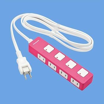 ランプレススイッチ採用!ザ・タップZ(4コ口)(2m) <延長コード・OAタップ・電源タップ・コンセント> WHS2524NP 【ポイント10倍】