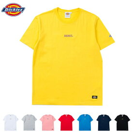 【Dickies】 Tシャツ ワンポイント ワッペン 183M30WD08 トップス Tシャツ カットソー 半そで【送料無料】【S1】