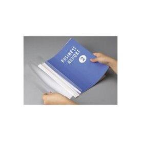 (まとめ買い)アスカ 製本カバー BH304 3mm 白 5冊 【×10セット】