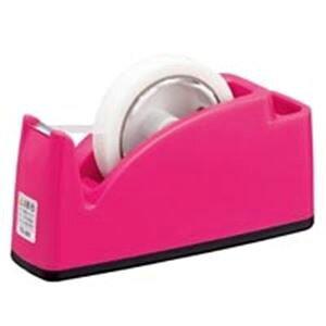 (まとめ買い)プラス テープカッター TC-201 ピンク 【×10セット】