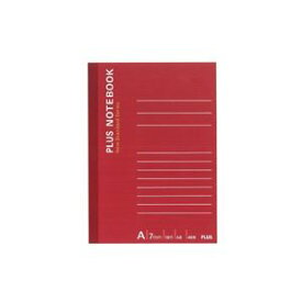 (まとめ買い)プラス ノートブック NO-405AS A6 A罫 【×50セット】