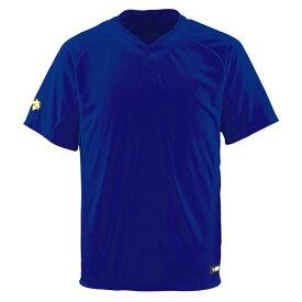 デサント(DESCENTE) ベースボールシャツ(2ボタン) (野球) DB201 ロイヤル L【ポイント10倍】