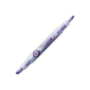 (まとめ買い)ゼブラ ZEBRA 蛍光オプテックス2 EZ 紫 WKT11-PU 【×30セット】