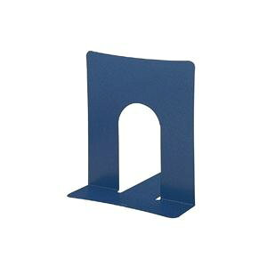 (まとめ買い)プラス ブックエンド 幅広 BS-102 ブルー 2枚 【×30セット】