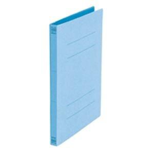 (まとめ買い)プラス フラットファイル 紙バインダー 2穴 031N B5S ロイヤル青10冊 【×5セット】