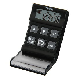 TANITA(タニタ) デジタルタイマー バイブレーションタイマー24時間計 クイック TD-370N ブラック