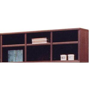 上置き(オープンラック用棚) 幅129cm 木製(天然木) 棚板付き 日本製 ブラウン 【完成品】【代引不可】