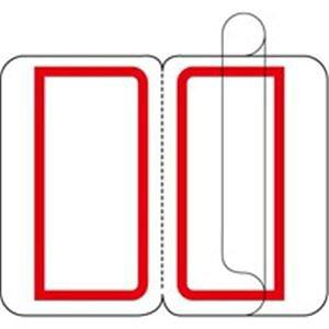 (業務用30セット) ジョインテックス インデックスラベルF付L赤10P B057J-LR-10 10シート×10パック ×30セット