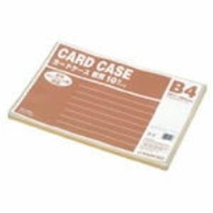 (業務用20セット) ジョインテックス 再生カードケース軟質B4*10枚 D067J-B4 ×20セット