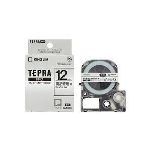 (業務用50セット) キングジム テプラPROテープ備品管理ラベルSM12XC ×50セット