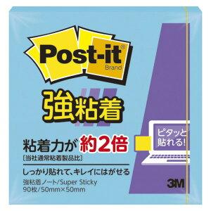 (業務用セット) 住友スリーエム ポストイット[R] 強粘着シリーズ ノート単品 650SS-B エレクトリックブルー 1個入 【×10セット】
