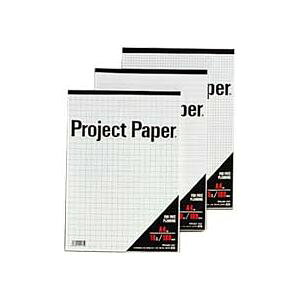 (まとめ) オキナ プロジェクトペーパー A4 5mm方眼 100枚 PPA45S 1冊 【×15セット】