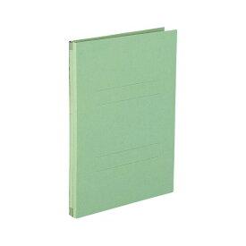 (業務用セット) のび-るファイル エスヤード 紙表紙(背幅17-117mm) AE-50F-30 グリーン 1冊入 【×10セット】