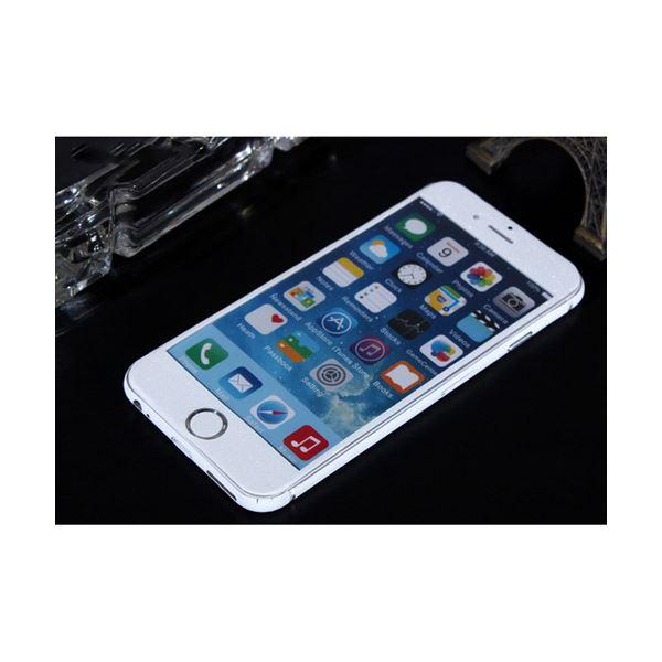 (まとめ)ITPROTECH 全面保護スキンシール for iPhone6Plus/ホワイト YT-3DSKIN-WH/IP6P【×10セット】【ポイント10倍】