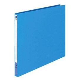 (まとめ) コクヨ レターファイル(色厚板紙) A3ヨコ 120枚収容 背幅20mm 青 フ-558B 1冊 【×10セット】