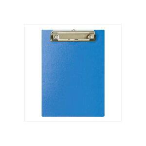(業務用セット) ハンディー・クリップボード A5 E型 ブルー/QB-A501-B【×10セット】