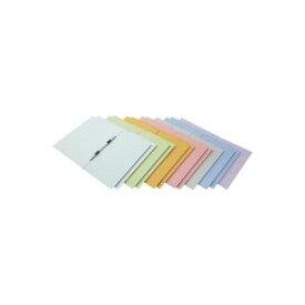 (業務用200セット) フラットファイル 紙バインダー 2穴 A4S MIX12冊 D017J-MIX ×200セット
