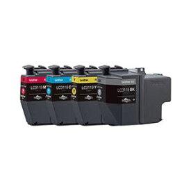 ブラザー工業 インクカートリッジ大容量タイプ 4色パック LC3119-4PK