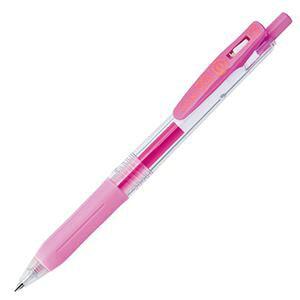 (まとめ) ゼブラ ゲルインクボールペン サラサクリップ 0.3mm ライトピンク JJH15-LP 1本 【×60セット】