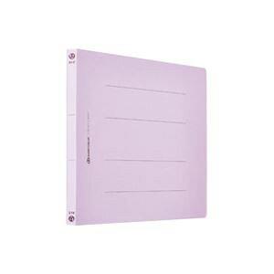 (業務用200セット) フラットファイル 紙バインダー 2穴 A4E 紫10冊 D018J-VL ×200セット