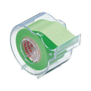 (業務用セット) ヤマト メモックロールテープ 本体(蛍光紙) SR-25CH-LI ライム 1個入 【×10セット】