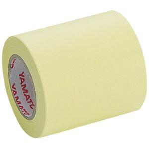 (業務用セット) ヤマト メモックロールテープ 詰替用テープ(再生紙) NOR-51H-1 黄 1巻入 【×10セット】