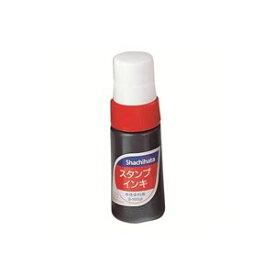 (業務用100セット) シャチハタ スタンプインキ S-1 小 赤 ×100セット