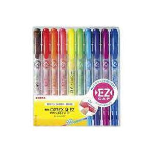 (業務用50セット) ゼブラ ZEBRA 蛍光オプテックス2 EZ 10色 WKT11-10C ×50セット