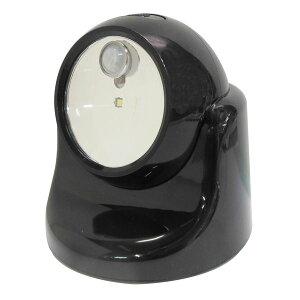 (業務用15個セット) TRAD 乾電池式LEDセンサーライト 【ブラック】 TSL-1B