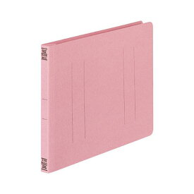 (まとめ) コクヨ フラットファイルV(樹脂製とじ具) B5ヨコ 150枚収容 背幅18mm ピンク フ-V16P 1パック(10冊) 【×5セット】
